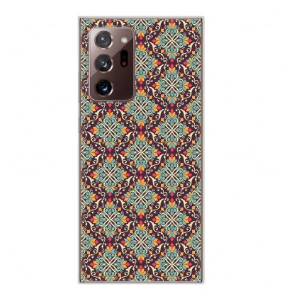 Coque en silicone Samsung Galaxy Note 20 Ultra - Arabesque
