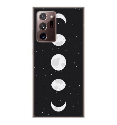 Coque en silicone Samsung Galaxy Note 20 Ultra - Phase de Lune