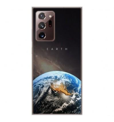 Coque en silicone pour Samsung Galaxy Note 20 Ultra - Earth