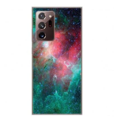 Coque en silicone pour Samsung Galaxy Note 20 Ultra - Nébuleuse
