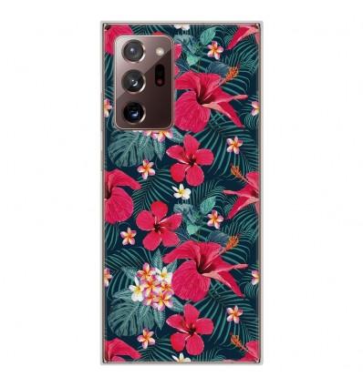 Coque en silicone Samsung Galaxy Note 20 Ultra - Hibiscus Fuchsia