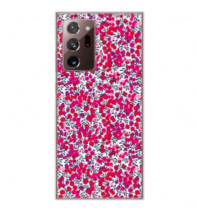 Coque en silicone Samsung Galaxy Note 20 Ultra - Liberty Wiltshire Rouge