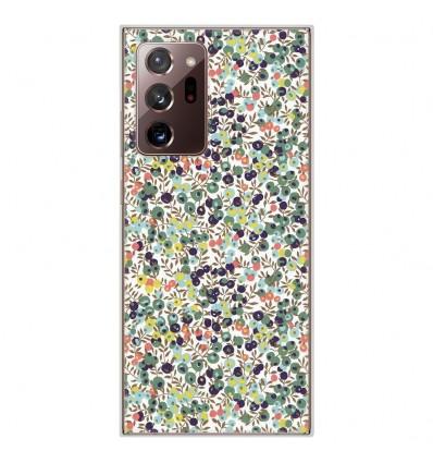 Coque en silicone Samsung Galaxy Note 20 Ultra - Liberty Wiltshire Vert