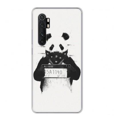 Coque en silicone pour Xiaomi Mi Note 10 lite - BS Bad Panda