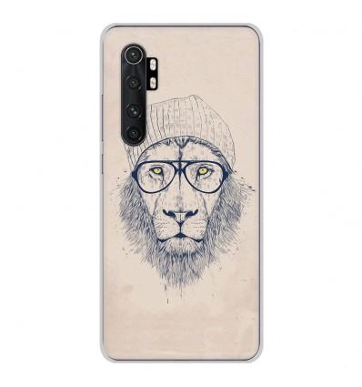 Coque en silicone Xiaomi Mi Note 10 lite - BS Cool Lion