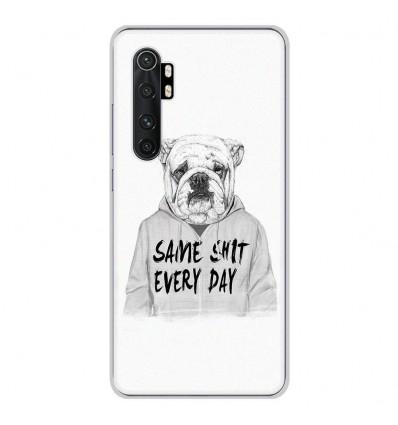 Coque en silicone pour Xiaomi Mi Note 10 lite - BS Same shit