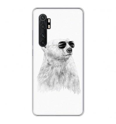 Coque en silicone pour Xiaomi Mi Note 10 lite - BS Sunny bear