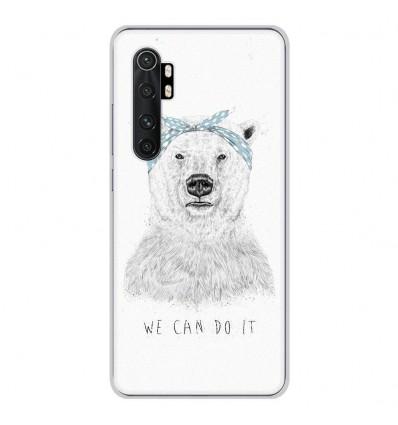 Coque en silicone Xiaomi Mi Note 10 lite - BS We can do it