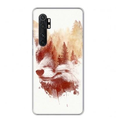 Coque en silicone Xiaomi Mi Note 10 lite - RF Blind Fox