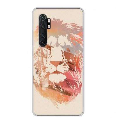 Coque en silicone Xiaomi Mi Note 10 lite - RF Desert Lion