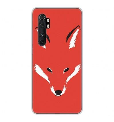 Coque en silicone Xiaomi Mi Note 10 lite - RF Foxy Shape