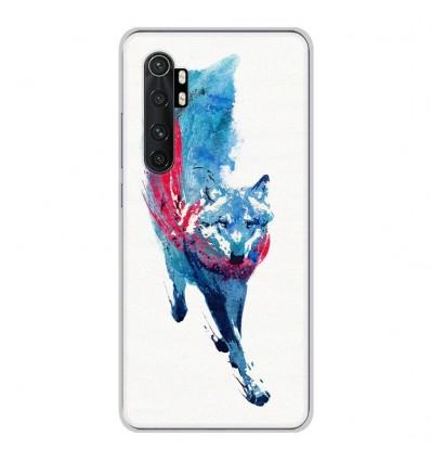 Coque en silicone Xiaomi Mi Note 10 lite - RF Lupus Lupus