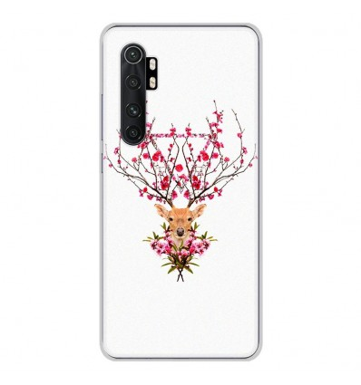 Coque en silicone Xiaomi Mi Note 10 lite - RF Spring deer