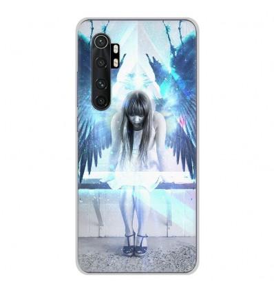 Coque en silicone Xiaomi Mi Note 10 lite - Angel