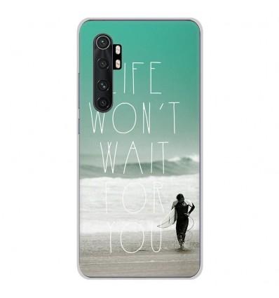 Coque en silicone Xiaomi Mi Note 10 lite - Surfer