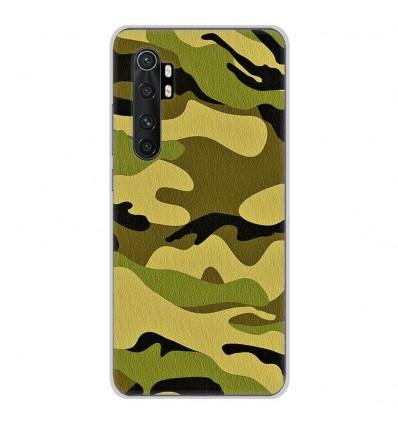 Coque en silicone Xiaomi Mi Note 10 lite - Camouflage
