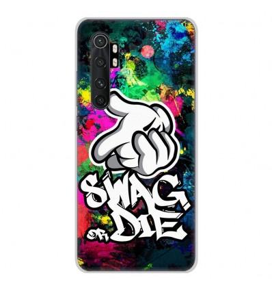 Coque en silicone Xiaomi Mi Note 10 lite - Swag or die