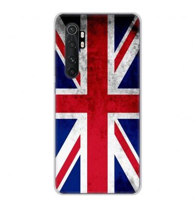 Coque en silicone Xiaomi Mi Note 10 lite - Drapeau Angleterre