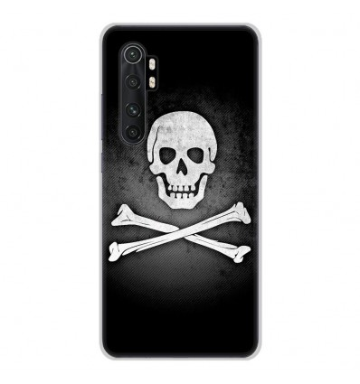 Coque en silicone Xiaomi Mi Note 10 lite - Drapeau Pirate