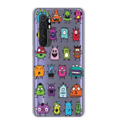 Coque en silicone Xiaomi Mi Note 10 lite - Alien