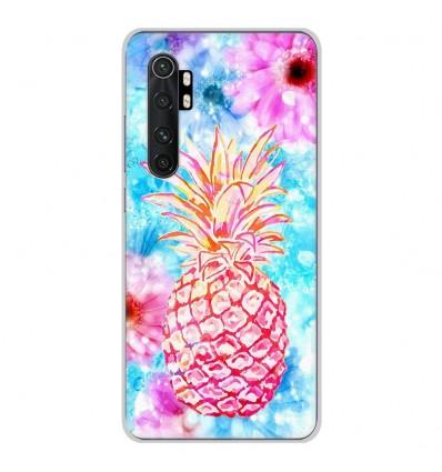 Coque en silicone Xiaomi Mi Note 10 lite - Ananas