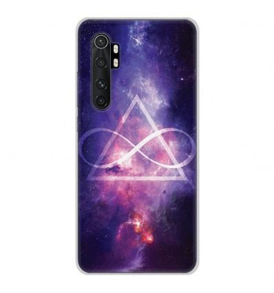 Coque en silicone Xiaomi Mi Note 10 lite - Infinite Triangle