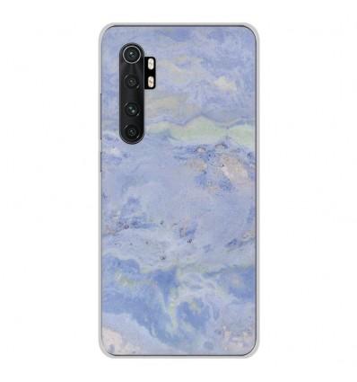 Coque en silicone Xiaomi Mi Note 10 lite - Marbre Bleu