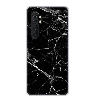 Coque en silicone Xiaomi Mi Note 10 lite - Marbre Noir