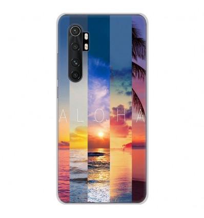 Coque en silicone Xiaomi Mi Note 10 lite - Aloha
