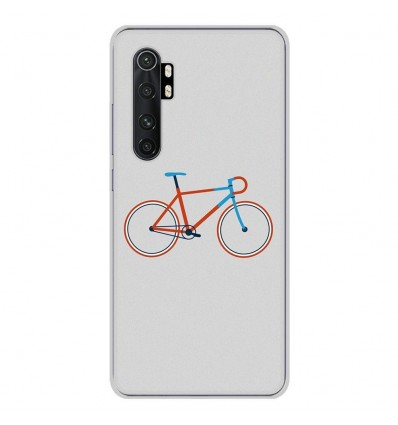 Coque en silicone Xiaomi Mi Note 10 lite - Bike color Hipster