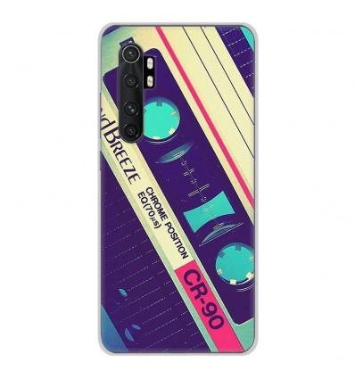 Coque en silicone Xiaomi Mi Note 10 lite - Cassette Vintage