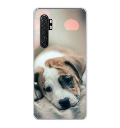 Coque en silicone Xiaomi Mi Note 10 lite - Chiot rêveur