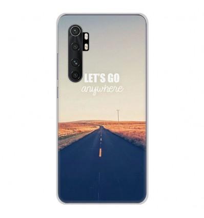 Coque en silicone Xiaomi Mi Note 10 lite - Citation 03