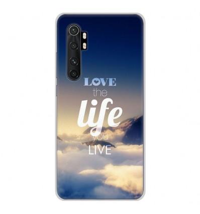 Coque en silicone Xiaomi Mi Note 10 lite - Citation 06