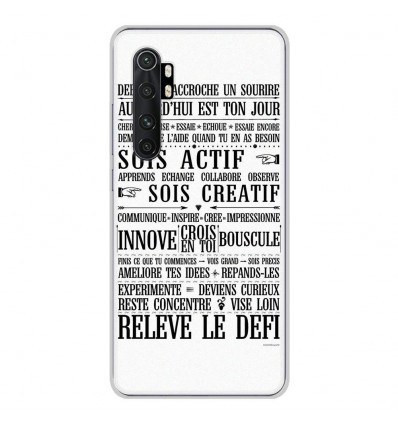 Coque en silicone Xiaomi Mi Note 10 lite - Citation 11