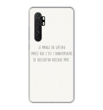 Coque en silicone pour Xiaomi Mi Note 10 lite - Citation 12
