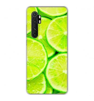 Coque en silicone pour Xiaomi Mi Note 10 lite - Citron