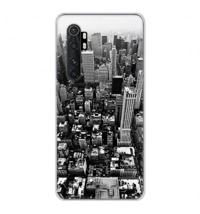 Coque en silicone Xiaomi Mi Note 10 lite - City