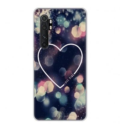 Coque en silicone Xiaomi Mi Note 10 lite - Coeur Love