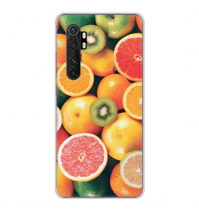 Coque en silicone Xiaomi Mi Note 10 lite - Fruits
