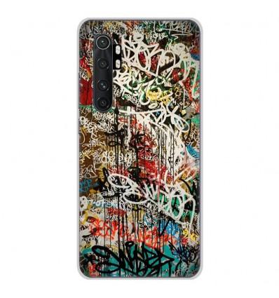 Coque en silicone Xiaomi Mi Note 10 lite - Graffiti 1