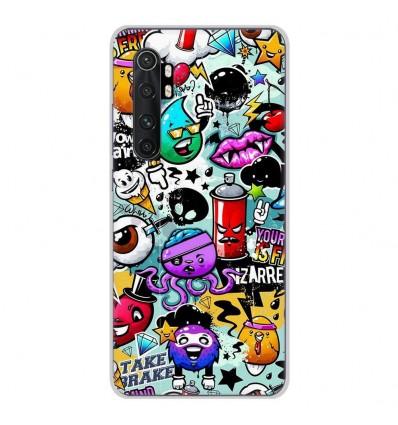 Coque en silicone Xiaomi Mi Note 10 lite - Graffiti 2