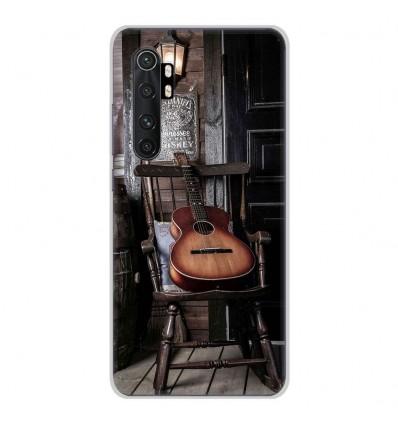 Coque en silicone Xiaomi Mi Note 10 lite - Guitare