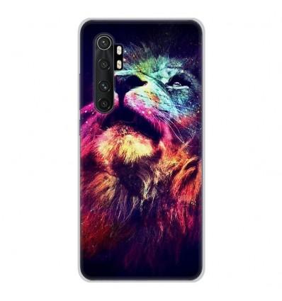 Coque en silicone Xiaomi Mi Note 10 lite - Lion swag