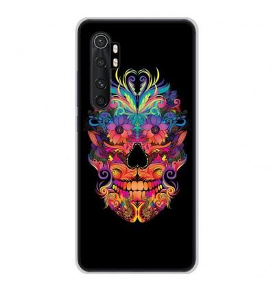 Coque en silicone pour Xiaomi Mi Note 10 lite - Masque carnaval
