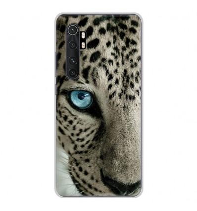 Coque en silicone Xiaomi Mi Note 10 lite - Oeil de léopard