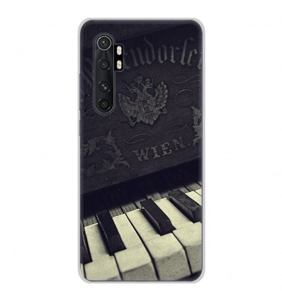 Coque en silicone Xiaomi Mi Note 10 lite - Old piano