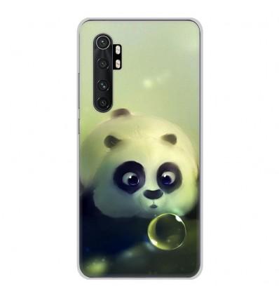 Coque en silicone pour Xiaomi Mi Note 10 lite - Panda Bubble