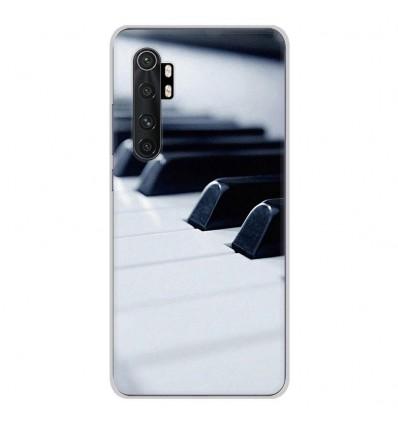 Coque en silicone Xiaomi Mi Note 10 lite - Piano
