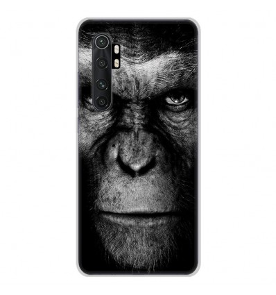 Coque en silicone Xiaomi Mi Note 10 lite - Singe
